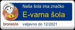 Značka E-varna šola